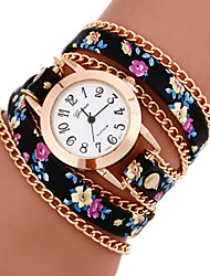 cheap -Women's Watches Vintage Braided cruising Bracelet Watch Geneva Quartz Strap watch Ethnic Style Wrist watch femme montre Cool Watches Unique Watches