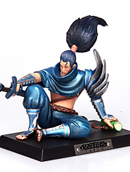 economico -League of Legends Yasuo pvc l'anime unforgiven12cm action figure bambola giocattolo modello