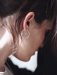 cheap -Women's Drop Earrings - Punk, European, Simple Style Silver / Golden For Party / Daily / Casual
