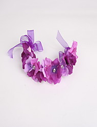 cheap -Tulle Fabric Wreaths Headpiece
