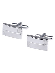 cheap -Silver Cufflinks Copper / Alloy Men's Costume Jewelry For