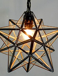 Tifani Rústico/Campestre Vintage Retro Lanterna Regional Moderno/Contemporâneo Tradicional/Clássico Luzes Pingente Para Sala de Estar