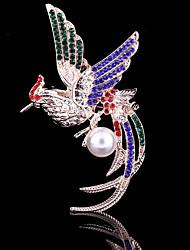 povoljno -Žene Broševi Kristal Kubični Zirconia Legura Slatko Zabava Posao Ležerne prilike Moda Jewelry Vjenčanje Party Special Occasion godišnjica