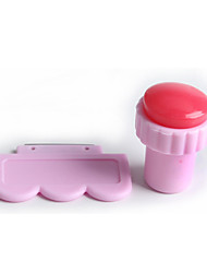 1 - Stampi 3D unghie in acrilico / Altre decorazioni - Astratto - Dito / Dito del piede - di Altro - 2.8cm for the head