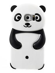 cheap -2016 3D Cartoon Animals Cute Panda Soft Silicone Case For Galaxy S6/S5/S4/S3