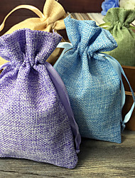 cheap -Creative Jute Favor Holder with Favor Bags - 6