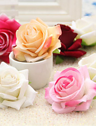 High Quality Roses Heads Flower Silk Flower Artificial Flowers for home Decoration Flower Kit