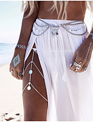 cheap -Women's Belly Chain Body Chain Alloy Unique Design Sexy Fashion European Others Body Jewelry For Wedding Casual Beach Costume Jewelry