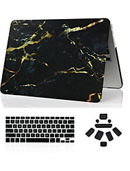 "cheap -Case for Macbook Pro 13.3""/15.4"" Marble ABS Material 3 in 1 Marble Full Body Case + Keyboard Cover + Dust Plug"