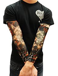 manicotti del tatuaggio desigh 2016 nuovo arrivo manicotti bracciale ciclismo sole traspirabilità bicicletta elastico (12 pz)