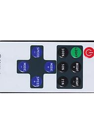 youoklight® mini-rf 433,92 seule couleur bande LED gradateur jeu contrôleur - blanc + rouge + noir (dc 12 ~ 24v)