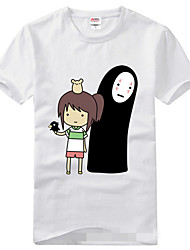 Inspiré par Chihiro Cosplay Manga Costumes de Cosplay Cosplay T-shirt Imprimé Manches Courtes Tee-shirt Pour Unisexe