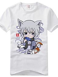 povoljno -Inspirirana Kamisama Kiss Tomoe Anime Cosplay nošnje Cosplay majica Print Kratkih rukava T-majica Za Muškarci Žene