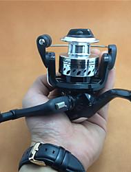 economico -Mulinelli per spinning / Lenze da pesca nel ghiaccio 5.2:1 4.0 Cuscinetti a sfera IntercambiabilePesca a mulinello / Pesca a ghiaccio /
