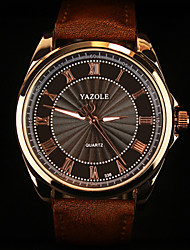cheap -YAZOLE® Brand Men's Fashion  Personality Quartz Alloy Dress Watch(Assorted Colors) Wrist Watch Cool Watch Unique Watch