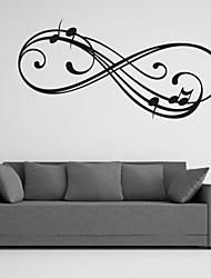 Worte & Zitate / Romantik / Mode / Abstrakt / Fantasie Wand-Sticker Flugzeug-Wand Sticker,PVC M:42*86cm/ L:55*112cm