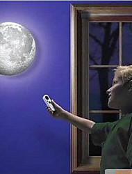 cheap -Indoor LED Wall Moon Lamp With Remote Control Relaxing Healing Moon Light