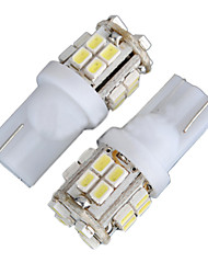 cheap -2pcs T10 Car Light Bulbs 4W SMD 1012 340lm 20 Decorative Lamp / License Plate Light / Reading Light