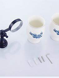 Zahnbürstenhalter Badezimmer Gadget / Antikes Messing Antik