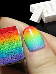 cheap -8pcs Nail Art Tools Gradient Nails Soft Sponges for Color Fade Manicure DIY Creative Nail Accessories Supplies