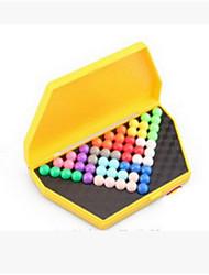 cheap -The Development of Children's Intelligence Magic Beads Pyramid Toy Box