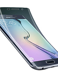 cheap -For Samsung Galaxy S6 edge plus Screen Protector High quality material hd Soft Screen Protector s6 edge