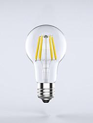7W E26/E27 Lâmpadas de Filamento de LED A60(A19) 8 leds COB Impermeável Decorativa Branco Quente Branco Frio 750lm 2700K AC 220-240V