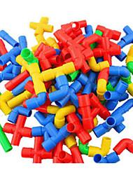 Недорогие -Разные цвета Пластик Строительные блоки DIY игрушки