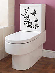 cheap -Stickers Bathroom Sticker Modern PVC Paper Surface Mounted