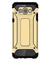 preiswerte -Hülle Für Samsung Galaxy Samsung Galaxy Hülle Stoßresistent Rückseite Rüstung PC für J5 (2016) J1 2015