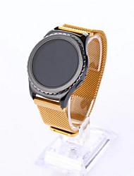preiswerte -Uhrenarmband für Gear S2 Samsung Galaxy Mailänder Schleife Edelstahl Handschlaufe