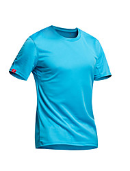 KORAMAN Cycling Jersey Men's Short Sleeves Bike T-shirt Top Quick Dry Ultraviolet Resistant Moisture Permeability Breathable