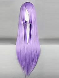 Cosplay Wigs Black Butler Hannah Anafeloz Purple Long Anime Cosplay Wigs 80 CM Heat Resistant Fiber Female