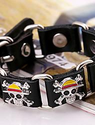 Недорогие -Муж. Кожаные браслеты Мода Кожа Бижутерия Для вечеринок Повседневные Бижутерия