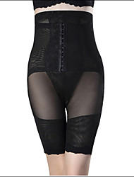cheap -Women's Hook & Eye Plus Size Underbust Corset-Solid