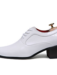 cheap -Men's Shoes Casual/Party & Evening/Office & Career/Wedding Fashion Oxfords Leather Shoes Black/White 38-43