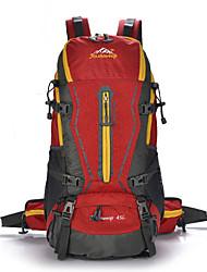 preiswerte -45 L Rucksack Camping & Wandern Outdoor Wasserdicht / Regendicht / Kompakt / Multifunktions Grün / Rot / Schwarz / Blau Oxford other
