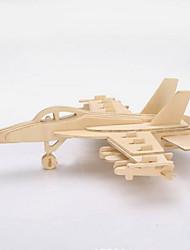 cheap -3D Puzzles Jigsaw Puzzle Wooden Puzzles Wood Model Model Building Kits Toys 3D DIY Wood Kids 1 Pieces