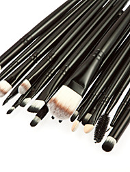 cheap -20pcs Makeup Brushes Professional Makeup Brush Set / Blush Brush / Eyeshadow Brush Goat Hair / Pony / Nylon Portable / Travel / / Wood
