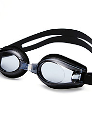 cheap -Swimming Goggles Anti-Fog Adjustable Size Anti-UV Waterproof Silica Gel PC Black Blue Transparent