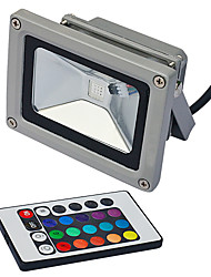 LED Floodlight 1 Integrate LED lm RGB K Remote-Controlled AC 85-265 V