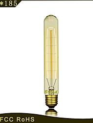 cheap -1pc 40W E27 E26/E27 E26 T30 Warm White 2300 K Incandescent Vintage Edison Light Bulb 220V 85-265V
