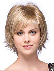 Short Blonde Wigs With Bangs Lightinthebox Com