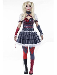 Cosplay Costumes Super Heroes / Bat Movie Cosplay Red / Blue Patchwork Top / Dress / More Accessories Halloween / Christmas / New Year
