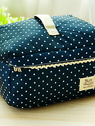 cheap -Portable Fabric Travel Storage/Packing Organizer for Making up  25*20*15cm