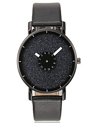 Herren Armbanduhr Einzigartige kreative Uhr Quartz PU Band Mehrfarbig 1 # 2 # 3 # 4 # 5 #