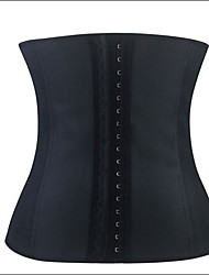 cheap -Shaperdiva Women's Sexy Waist Training Cincher Underbust Black Slim Corset Sport Latex Body Shaper