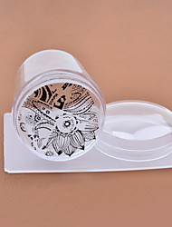 1set nail stamper and scraper-Autre décorations-Doigt / Orteil- enAbstrait / Adorable-4cm for the head