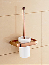 cheap -Toilet Brush Holder Bathroom Gadget / Gold Brass /Neoclassical