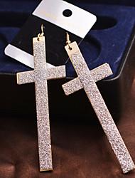 povoljno -Žene Viseće naušnice - Pink Zlatan Naušnice Za Vjenčanje Party Dnevno